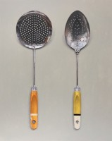 Rachel Ross Two Slotted Spoons