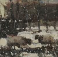Robert E Wells 2 Sheep