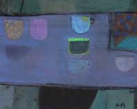Sandy Murphy RSW RGI Purple Shelf