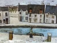 Simon Quadrat Houses by a River