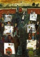 Simon Quadrat The Cafe Garden