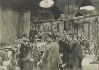 Steven Spurrier Langham Sketching Club