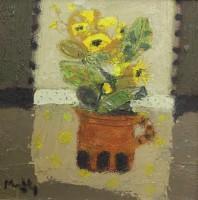 Sandy Murphy Jug of Picked Flowers