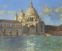 David Sawyer Sunlight across the facade, Santa Maria della Salute