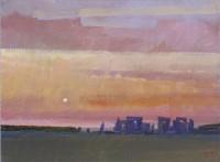 David Sawyer Sunset, Salisbury Plain