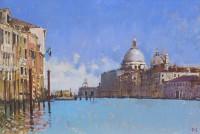 David Sawyer Towards Salute, the Grand Canal Venice