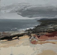 Chris Bushe 	Serrated Coastline, Fast Moving Clouds