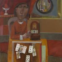 Simon Quadrat  The Card Player