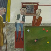 Simon Quadrat The Snooker Players