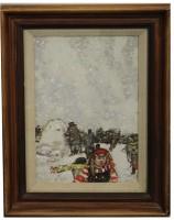 Ruskin Speak Children and Snowman