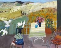 Christine Woodside Spanish Terrace