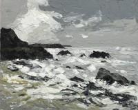 Martin Llewellyn Stormy Sea Morloes Stormy Sea Morloes
