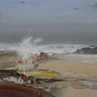 Chris Bushe Summer Shoreline, Breaking Wave
