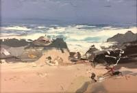 Chris Bushe RSW Summer Waves, Pink Sands