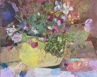 Helen Riches Sweetpea and Roses