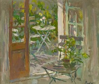 Susan Ryder RP NEAC Terrace Chairs