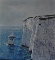 Andrew Scott George The Pinnacles (Study)
