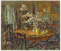 Susan Ryder RP NEAC The Small Dining Room