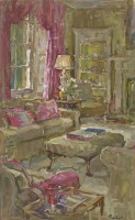 Susan Ryder RP NEAC The Upstairs Drawing Room