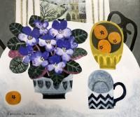 Vanessa Bowman African Violets & Tangerines