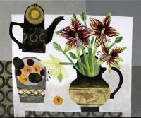 Vanessa Bowman Amaryllis & Coffeepot