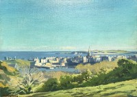 Stephen Bone (1904-1958)View of Tenby, 1940's
