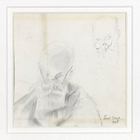 Paul Maze Vuillard having his hair cut
