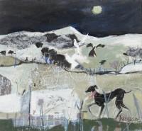 Christine Woodside Whippet Moon