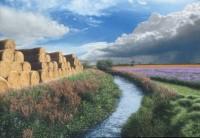 Steve Whitehead Straw Bales near Harpham