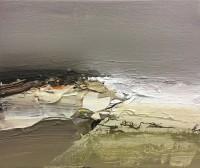 Chris Bushe RSW Windswept Beach and a High Tide
