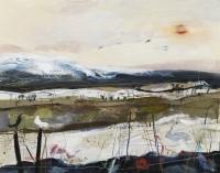 Christine Woodside Winter Hare, Kinross