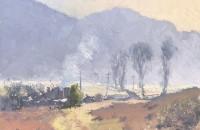 Warwick Fuller Winter Morning Warming, Capertee Valley