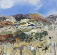 Christine Woodside RSW RGI Rocks, Malaga, Andalucia