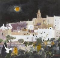 Christine Woodside RSW RGI Warm Night, Andalucia