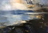 Zarina Stewart Clark Rain Over Jura, Evening