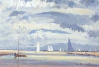 Hugh Boycott Brown (1909-1990) RSMA Blakeney, Norfolk