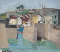 Margrete Marks (1899-1990) Cornish Landscape