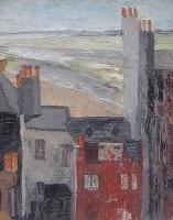 Margrete Marks (1899-1990) Cottages Newlyn