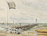 Paul Maze Deauville Pier