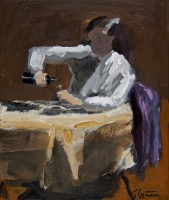 David Storey The Drinker (study)