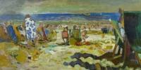 Edwin La Dell A day at the beach