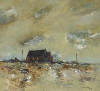 Gordon Hope Wyllie RSW (1930-2005) Morning Sky, Gigha
