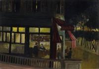 George Manchester Paris at Night