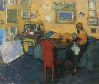 Margaret Green (1925-2003) Interior at Elm Park Gardens