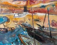 James Lawrence Isherwood (1917-1988) St Ives Harbour
