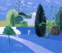 Mary Fedden (1915 - 2012) OBE PPRWA RA Julian at Woolland