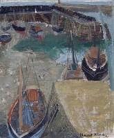Margrete Marks (1899-1990) Low Tide at Mevagissey