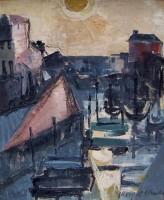 Margrete Marks (1899-1990) Mevagissey Sunrise