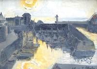 Margrete Marks (1899-1990) Mevagissey Sunrise III