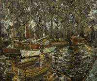 Jonas Plosky A day on the river, Norfolk Broads